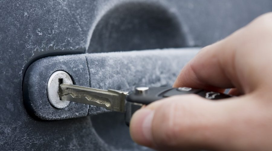 Why You Should Rekey Frozen Car Locks