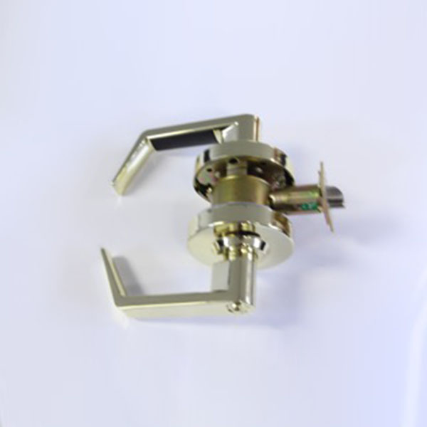 Aurora Locksmith Commercial: Entry Clutched Lever Grade2 2 3/4 Backset Bright Brass